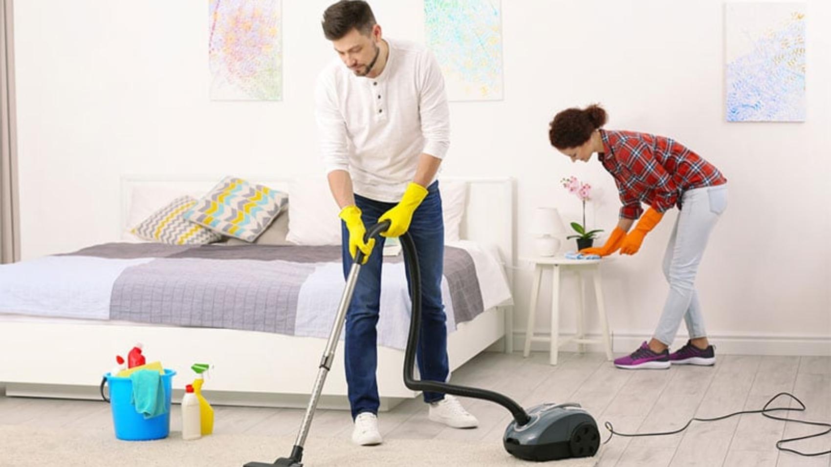 نظافت-اتاق-خواب